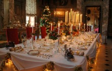 Marlborough family Christmas table
